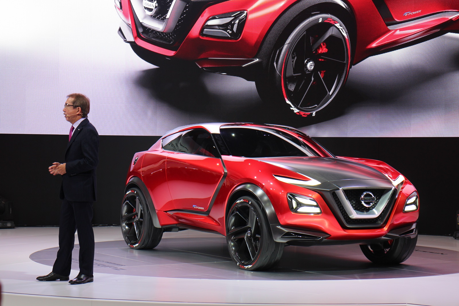 Nissan Gripz Concept uses Note e-Power series-hybrid system