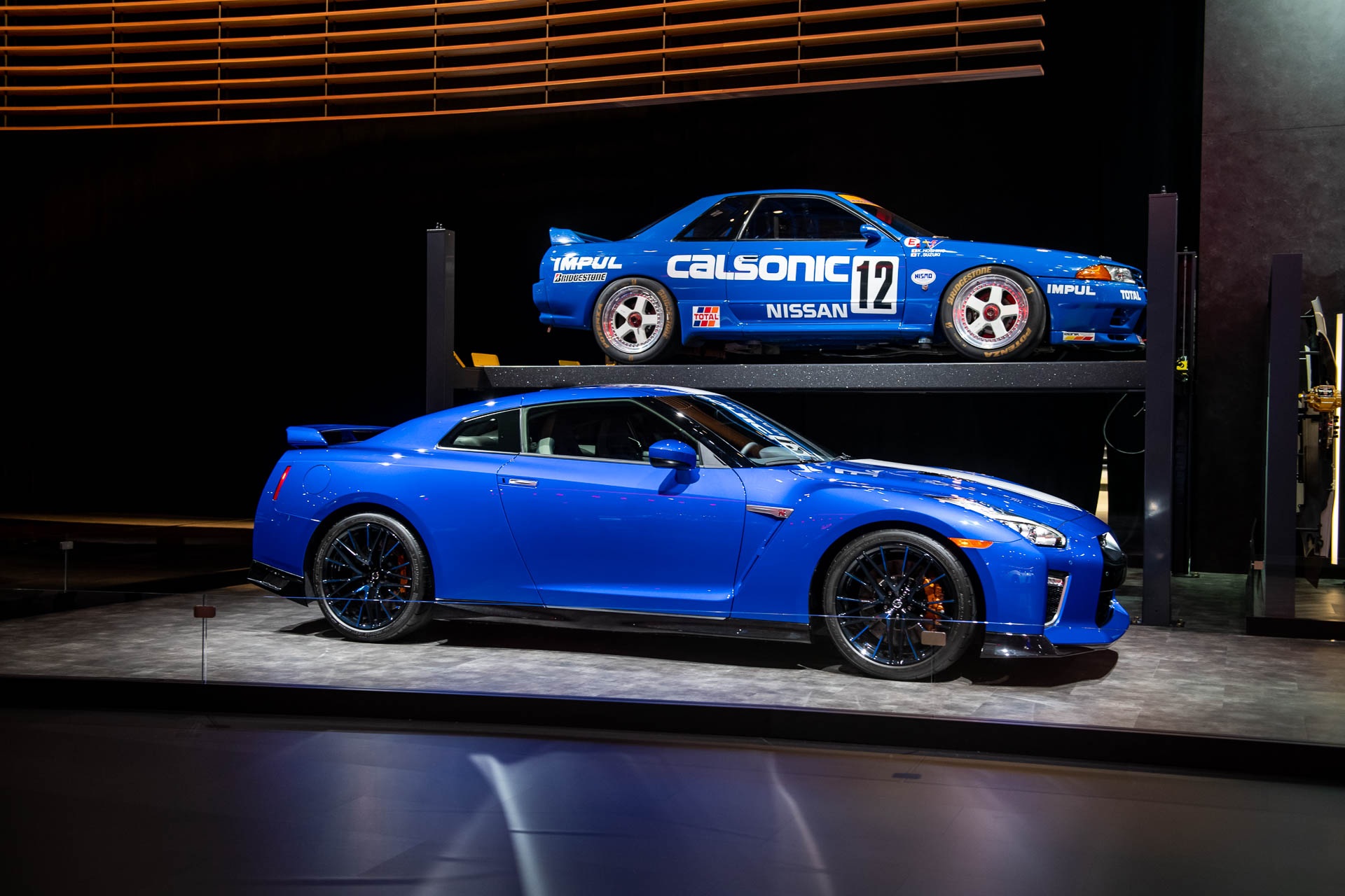 Nissan rolls out 50th anniversary GT-R with Bayside Blue paint