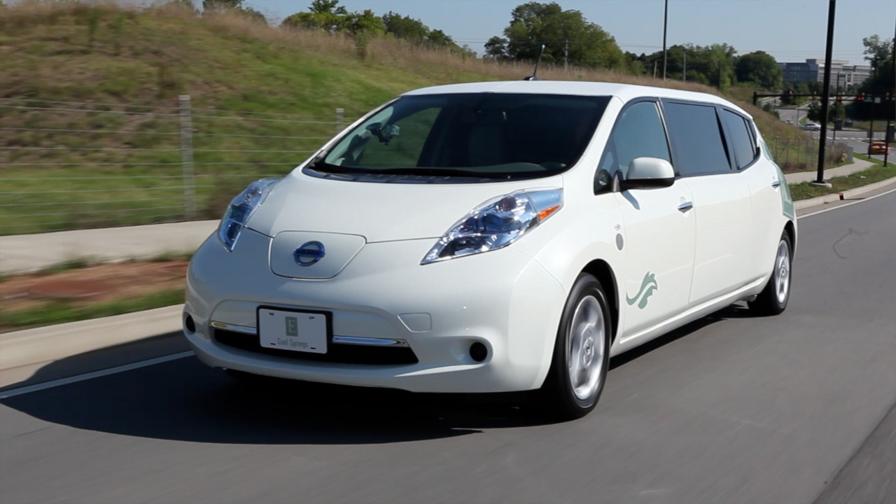 Four Special Nissan Leaf Electric Cars To Celebrate 4