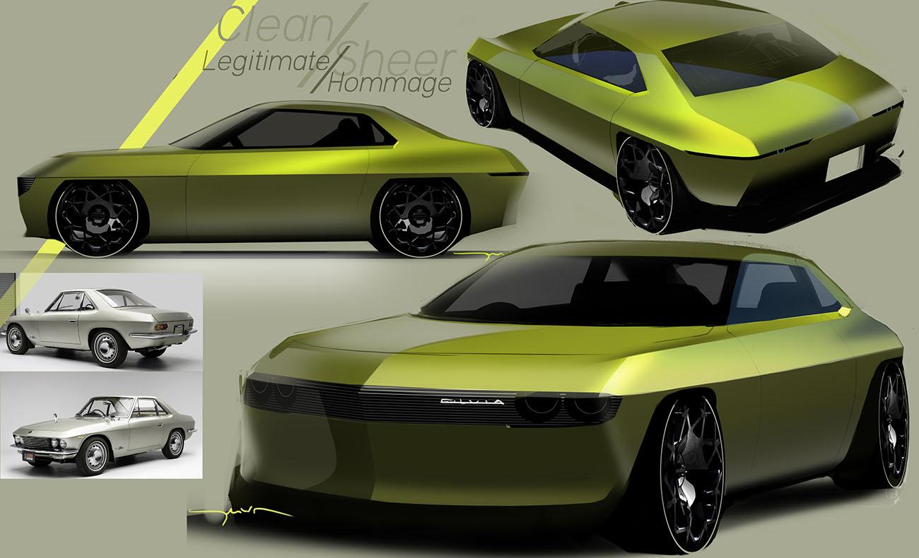 Concepto Nissan Silvia EV