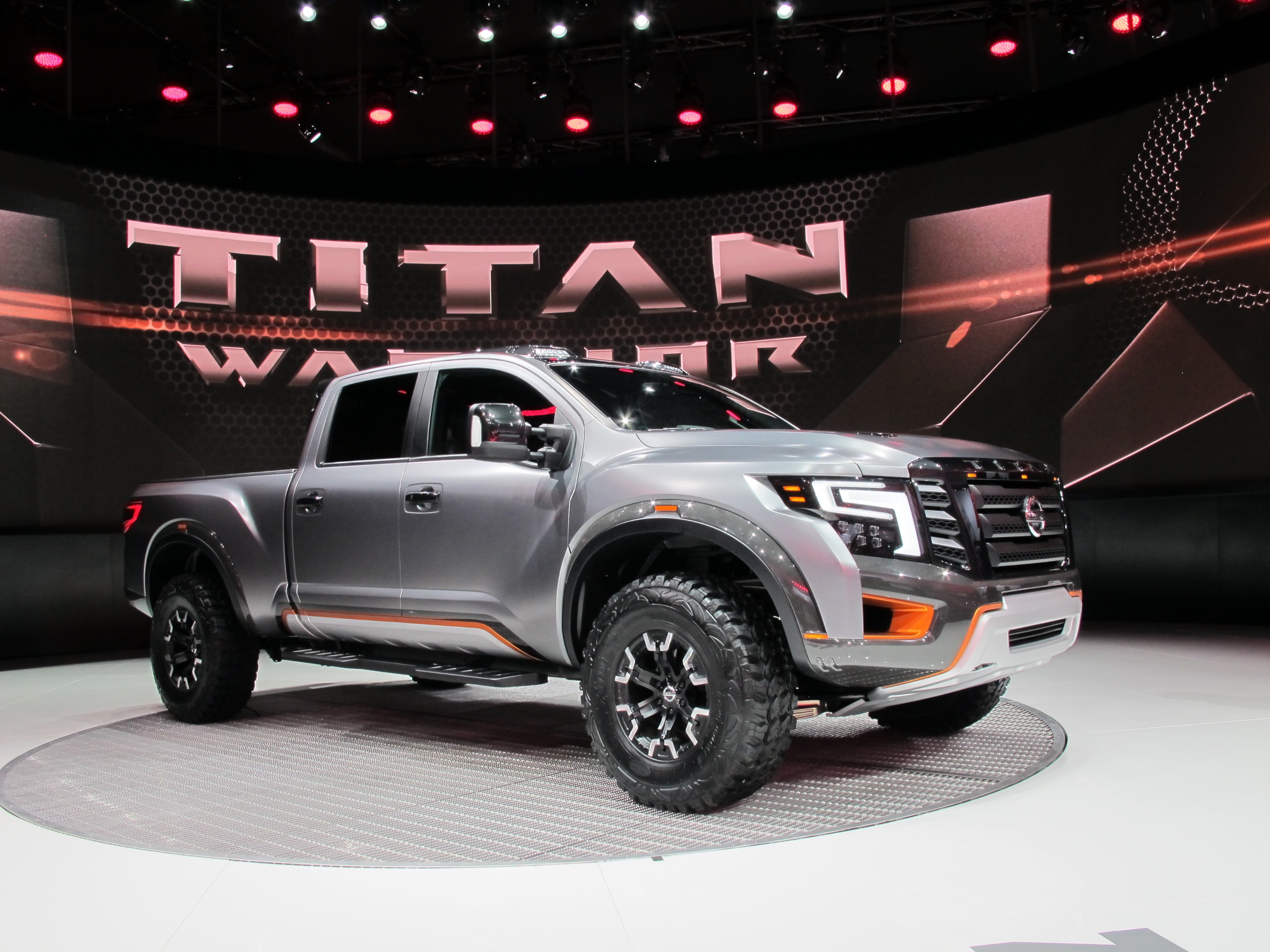 Nissan Shows Off Road Oriented Titan Warrior Concept