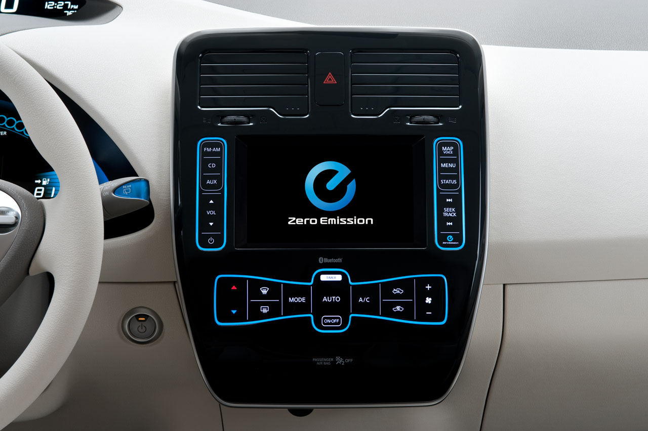 The 2011 Nissan Leaf May Have An Iphone App But Runs