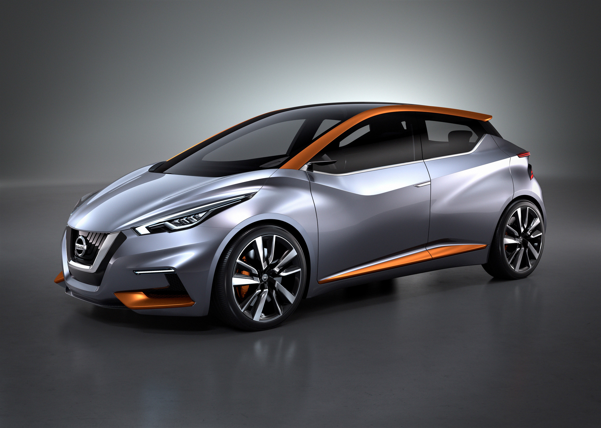 Nissan Sway Concept Sets The Look For Future Small Cars