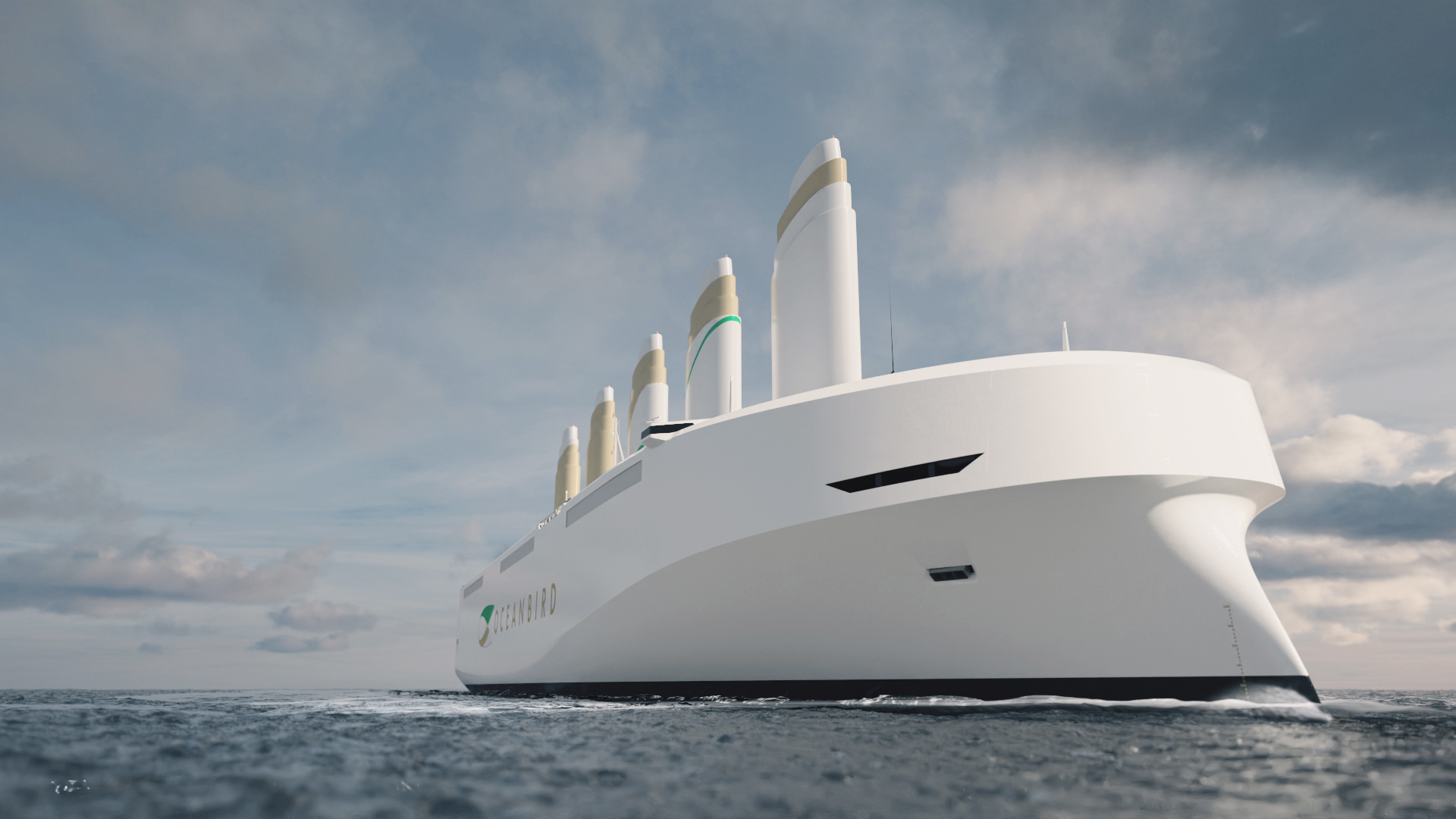 Wind-powered transatlantic car carrier could cut carbon emissions by 90%