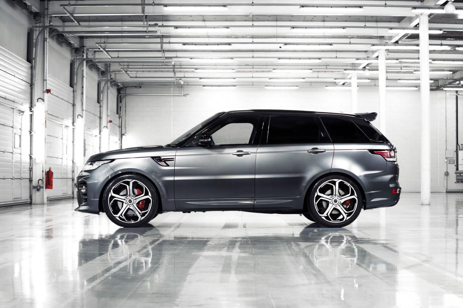 [SODI_2457]   Overfinch Tunes The Latest Range Rover Sport | 2016 Range Rover Sport Modified |  | Motor Authority