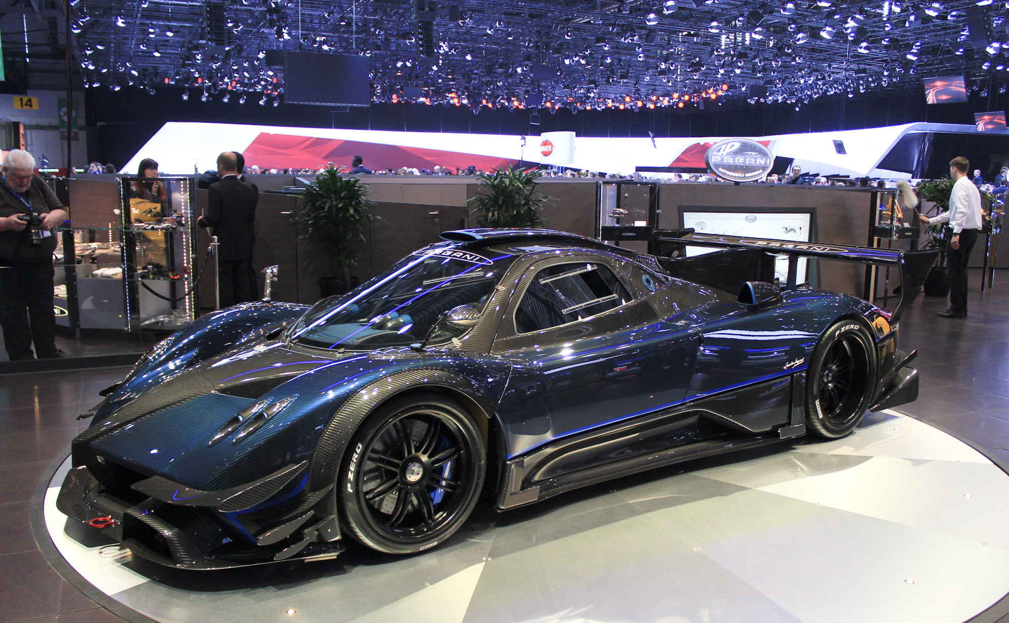 Fifth And Final Pagani Zonda Revolucion 2014 Geneva Motor Show Live Photos