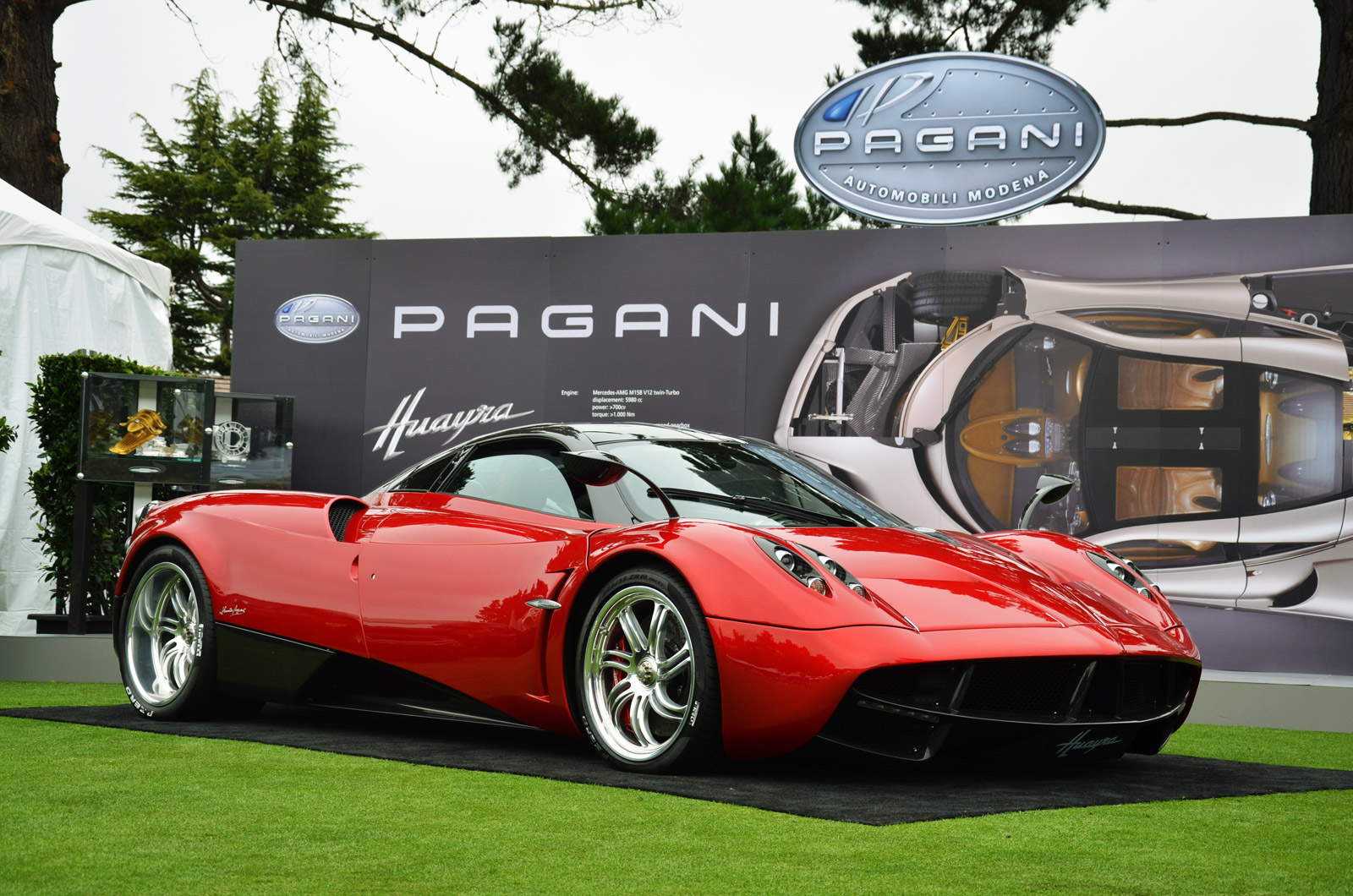 Pagani Huayra, nd Officially Arrives In North America: Video