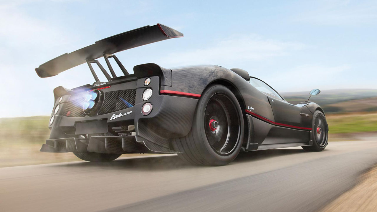 One Off Pagani Zonda Heads To Auction