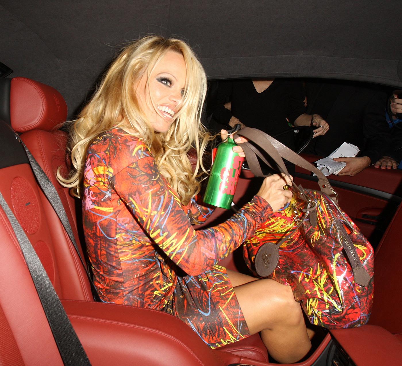 Pamela Anderson, Backseat Blabber