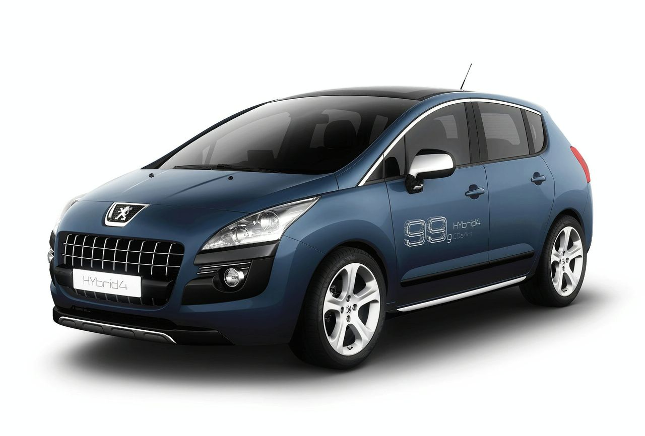 peugeot to show first production diesel hybrid, for europe only