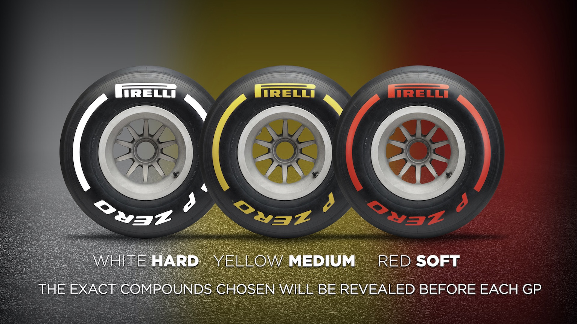 Pirelli Makes It Easier To Understand F1 Tire Choices