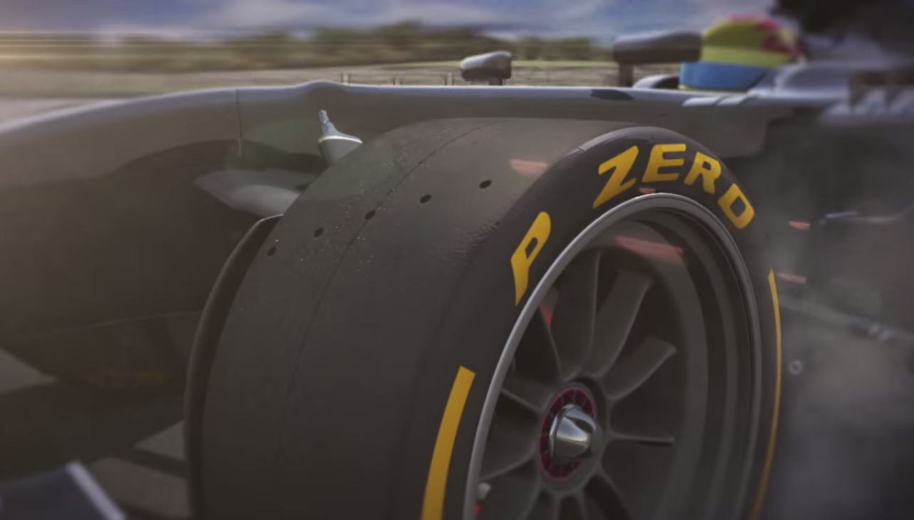 Pirelli Demonstrates The Benefits Of 18 Inch F1 Tires Video