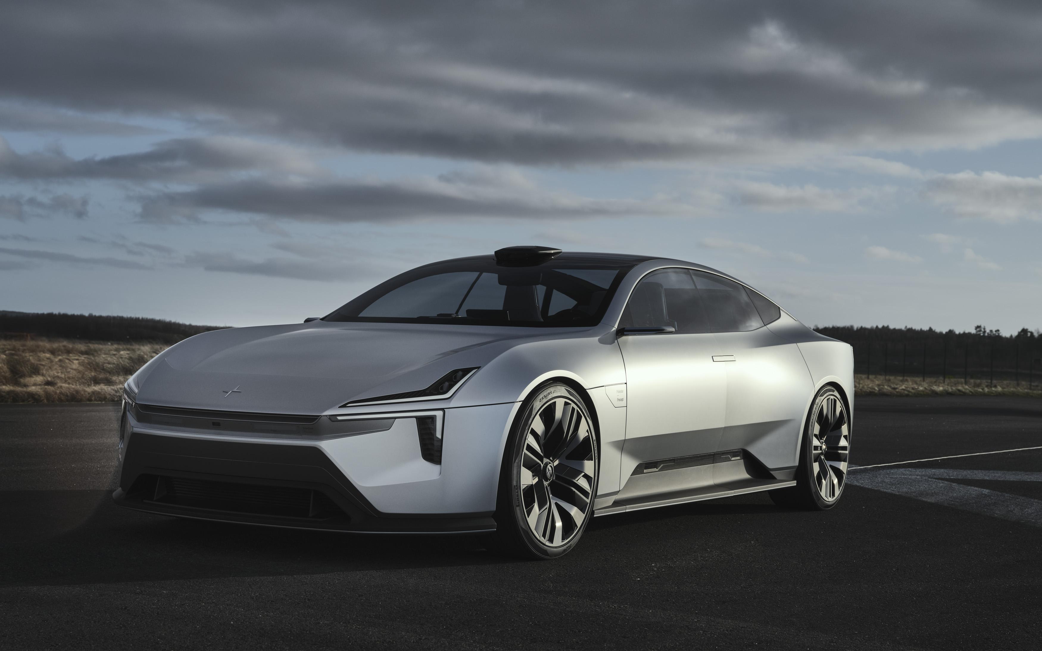 Polestar confirms Precept concept to rival Model S, Lucid Air