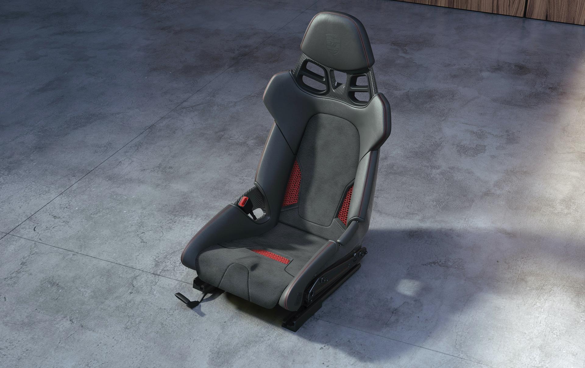 Porsche starts offering 3D-printed seats