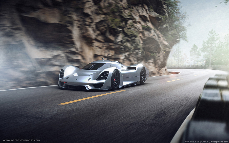 Independent designers create virtual Porsche Vision Gran ...