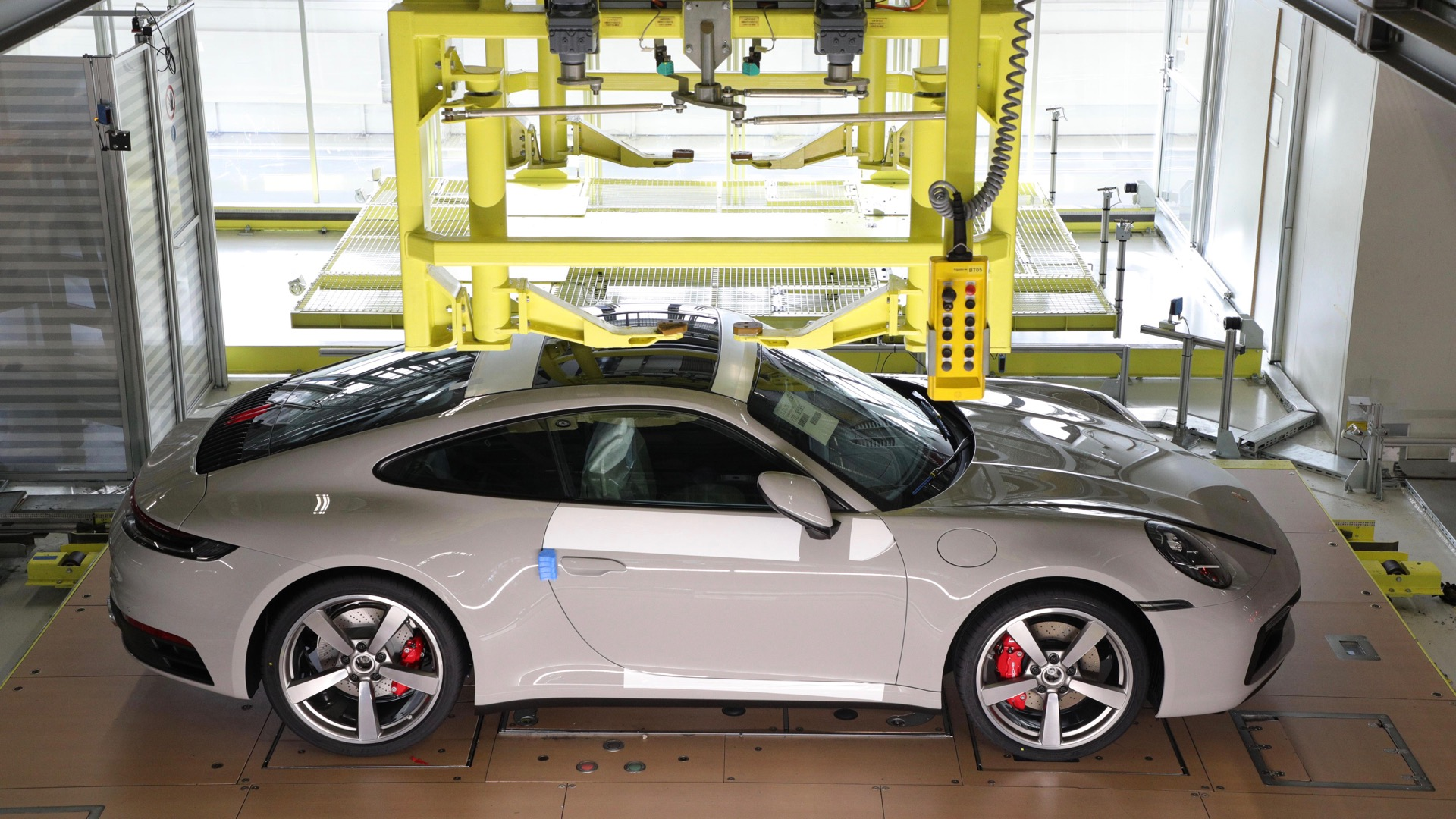 Now you can watch your Porsche 911 or 718 being built...remotely