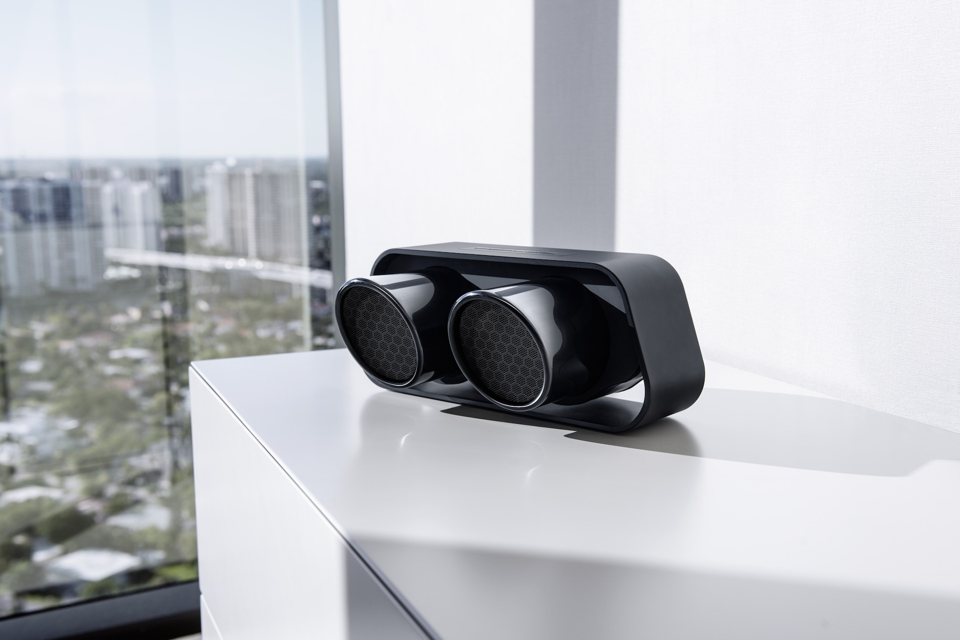 911 gt3 exhaust bluetooth speaker is for the most die hard. Black Bedroom Furniture Sets. Home Design Ideas