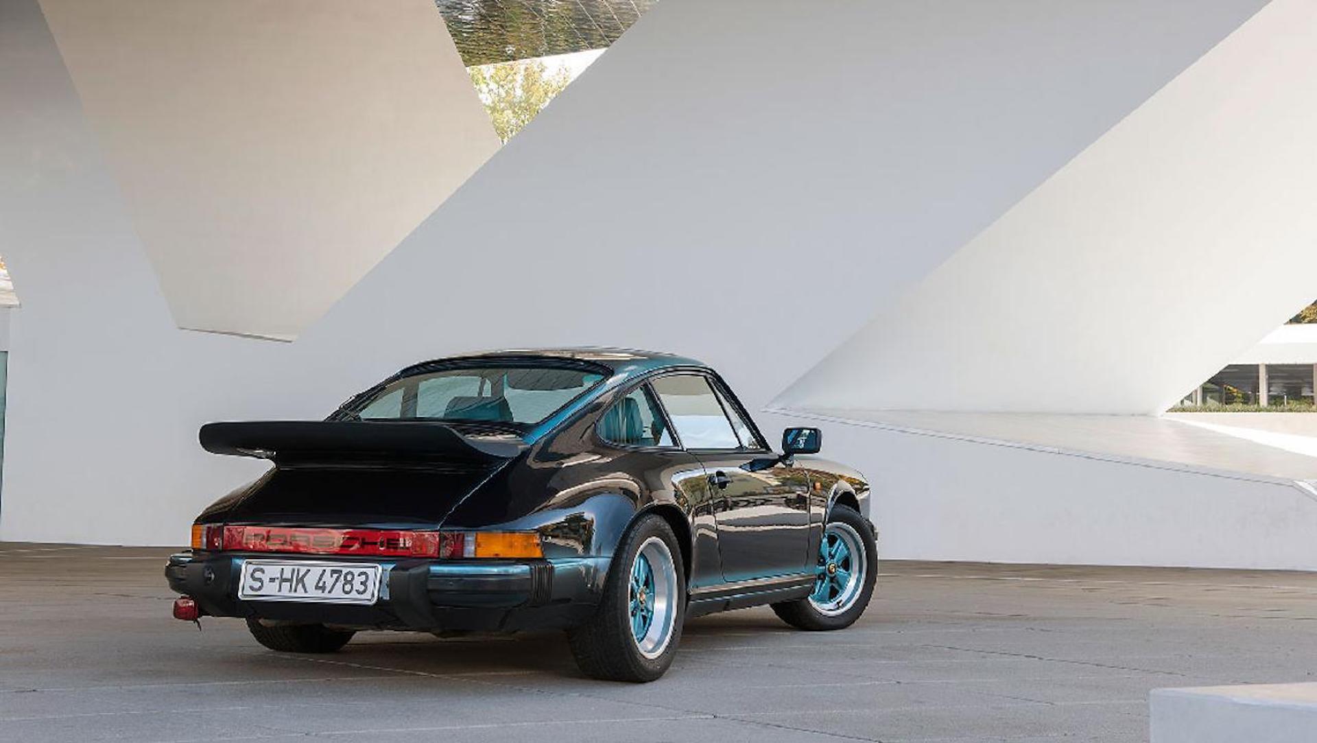 Feel The Teal Porsche Classic Restores One Off 1984 911 Carerra 3 2