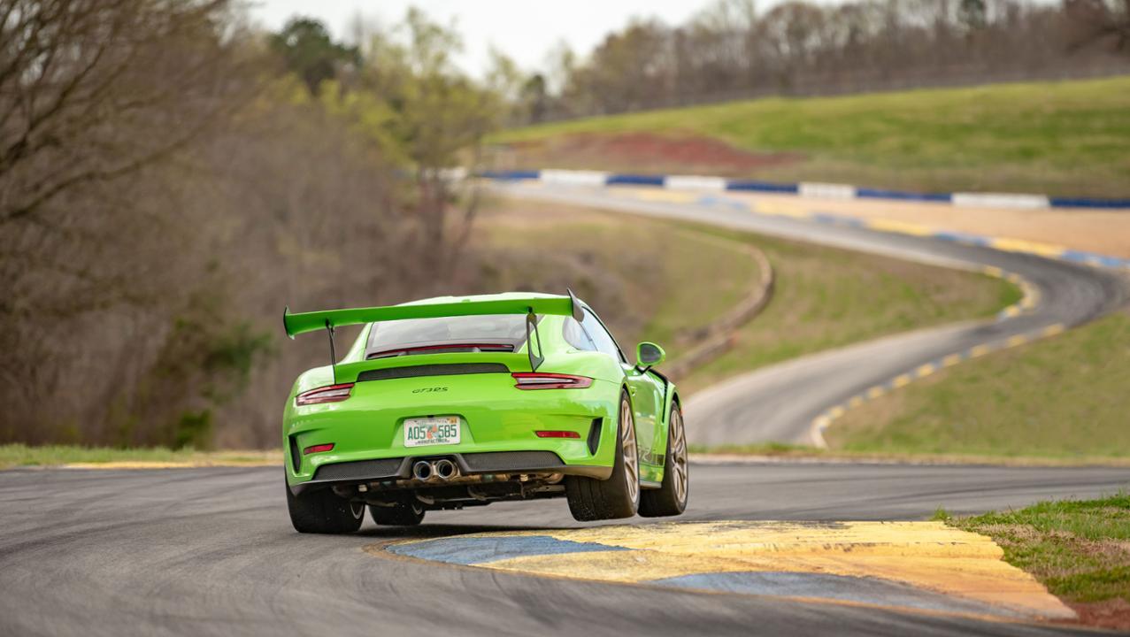 Porsche 911 Gt2 Rs Clocks New Lap Record At Road Atlanta