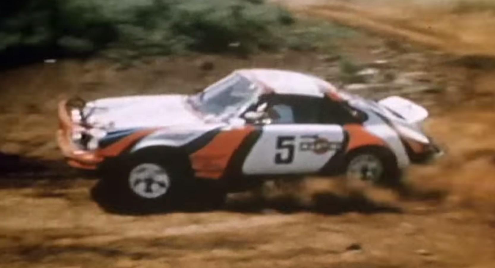 Porsche 911 Sc East African Safari Rally Car Video