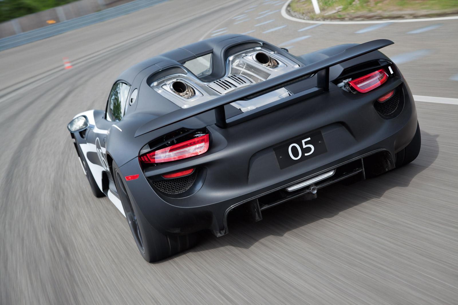Porsche 918 Spyder Jail For Texting Karma Fire Car News Headlines