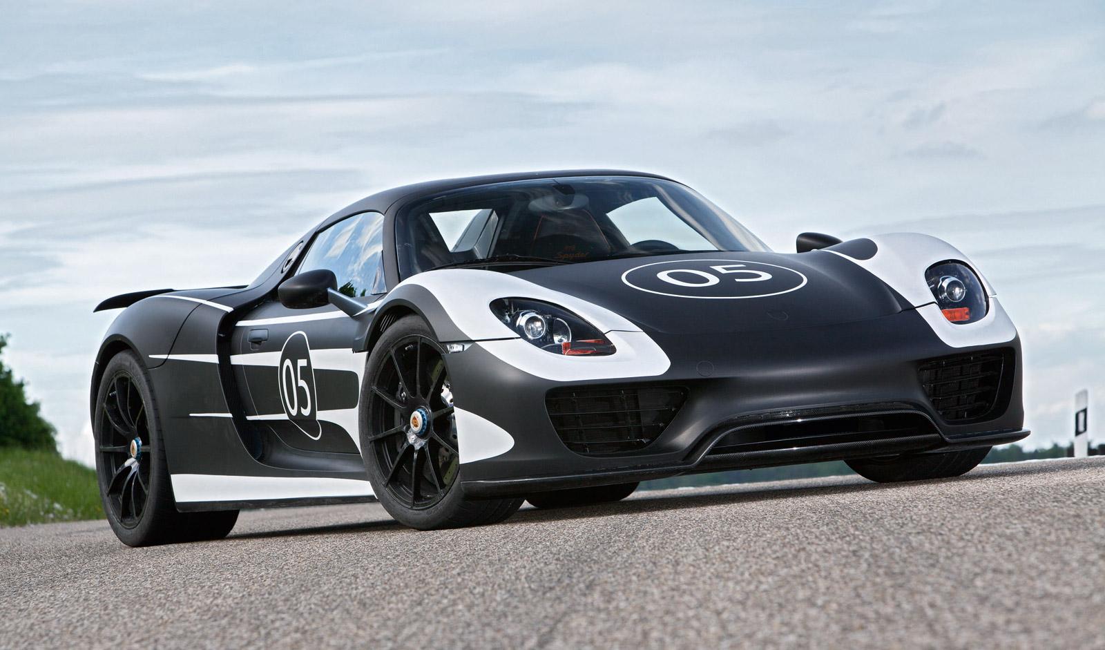 Porsche 918 Spyder To Get Optional Race Track Package Report
