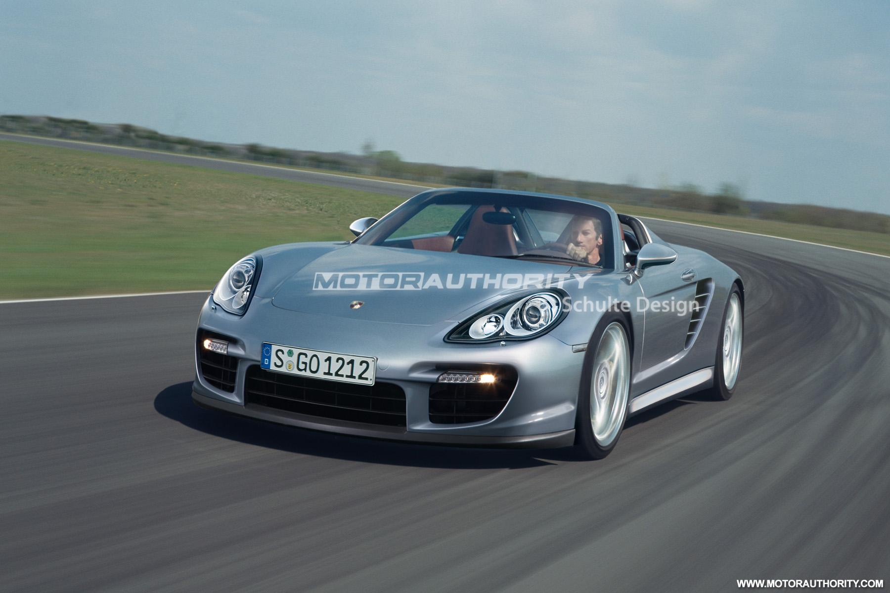 Preview Rs Spyder Based Porsche Carrera Gt Successor