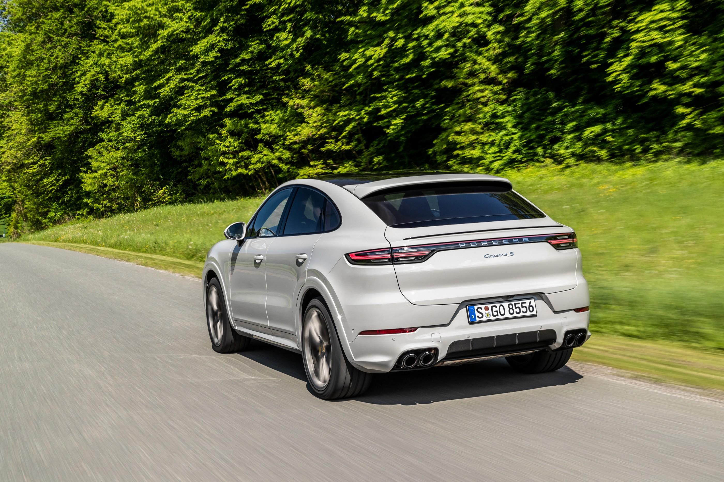2020 Porsche Cayenne Coupe, 2020 Chevrolet Silverado 1500 ...