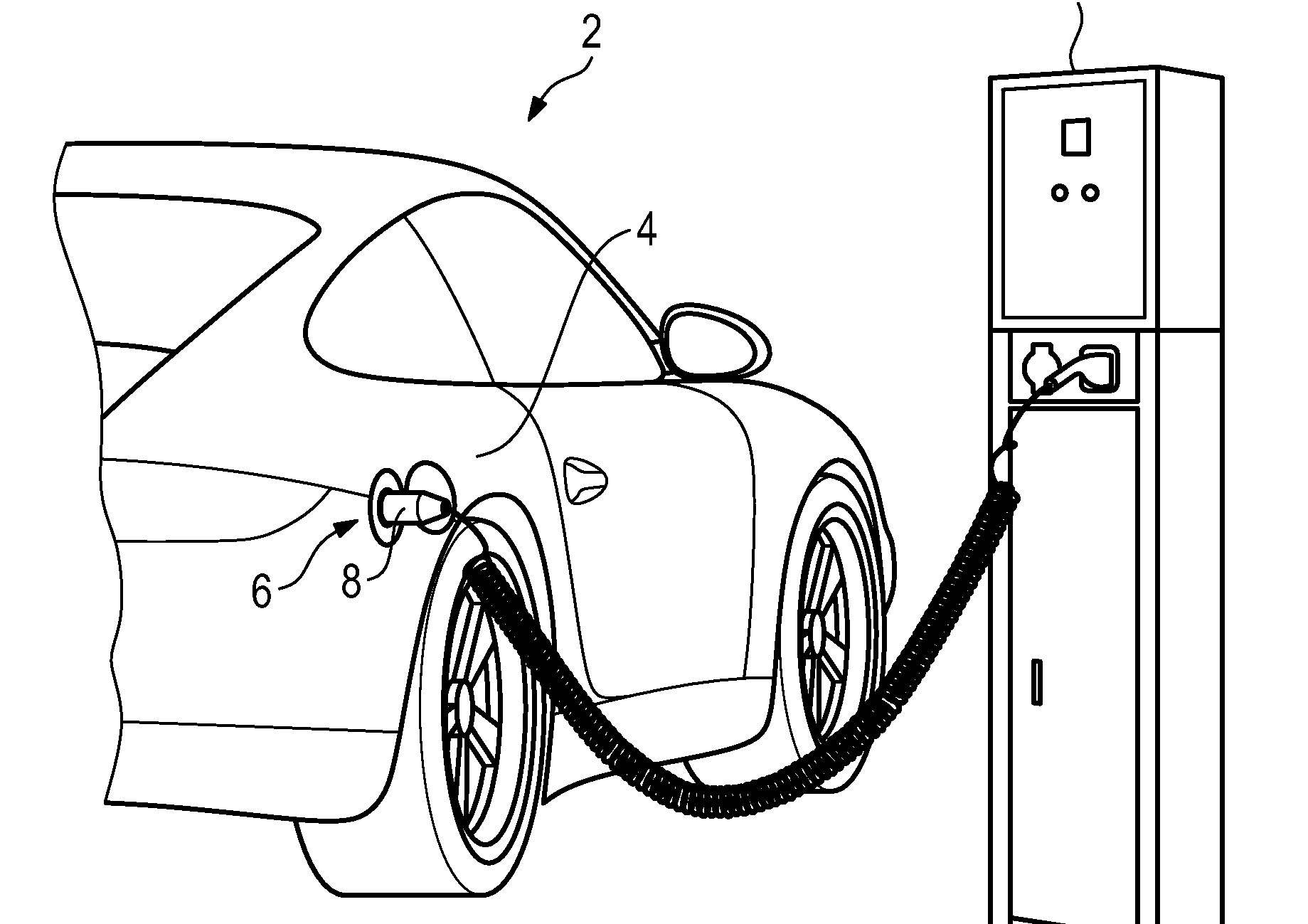 plug in porsche 911 proven by patent drawings not quite 2018 Tesla Model F