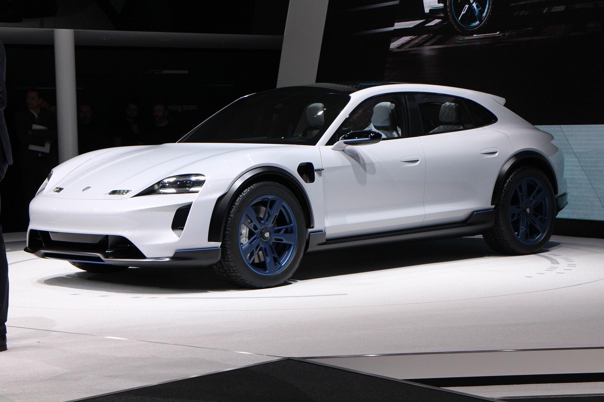 Porsche Mission E Cross Turismo concept: second electric ...