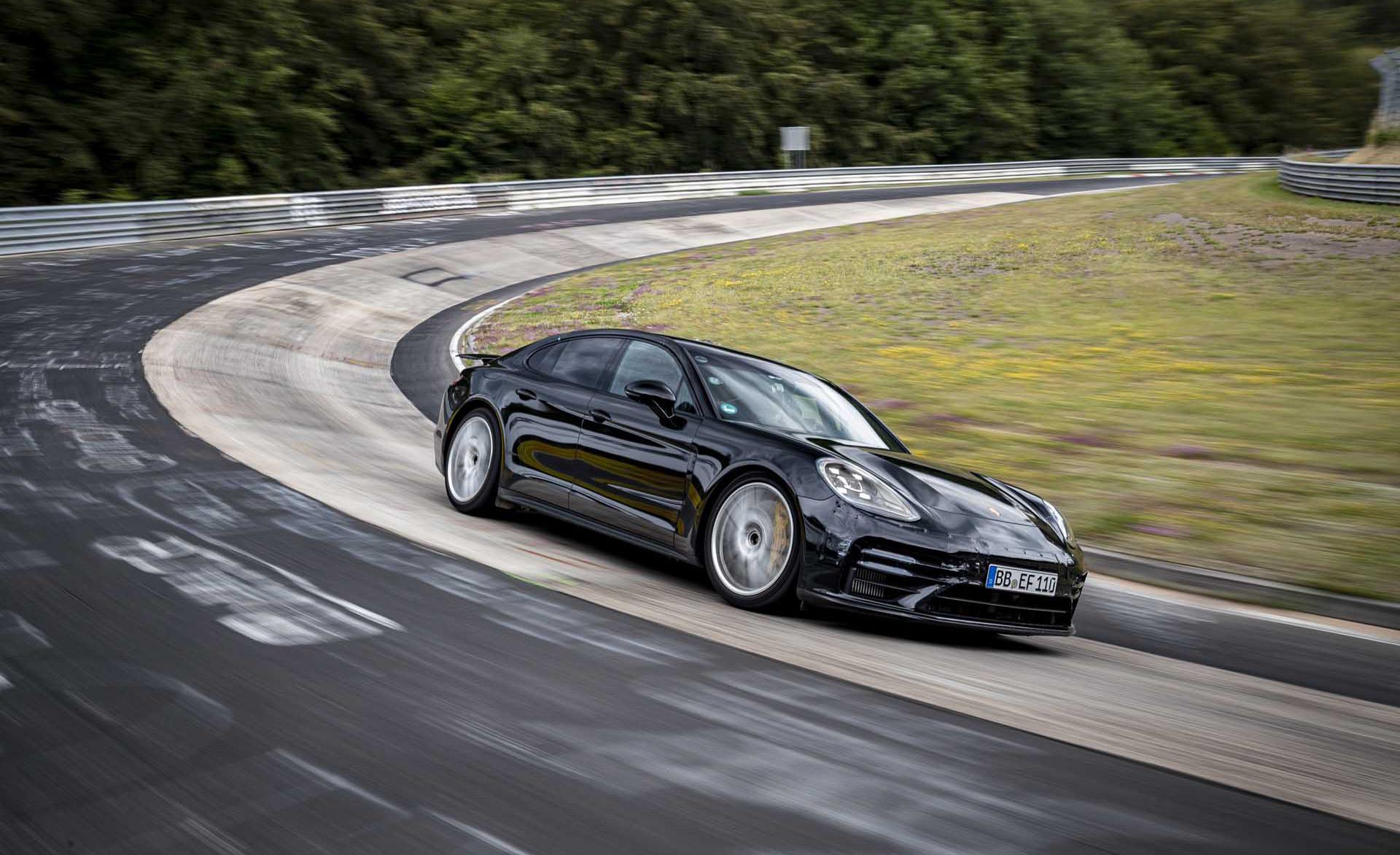 2021 Porsche Panamera laps the 'Ring faster than a C8 Corvette