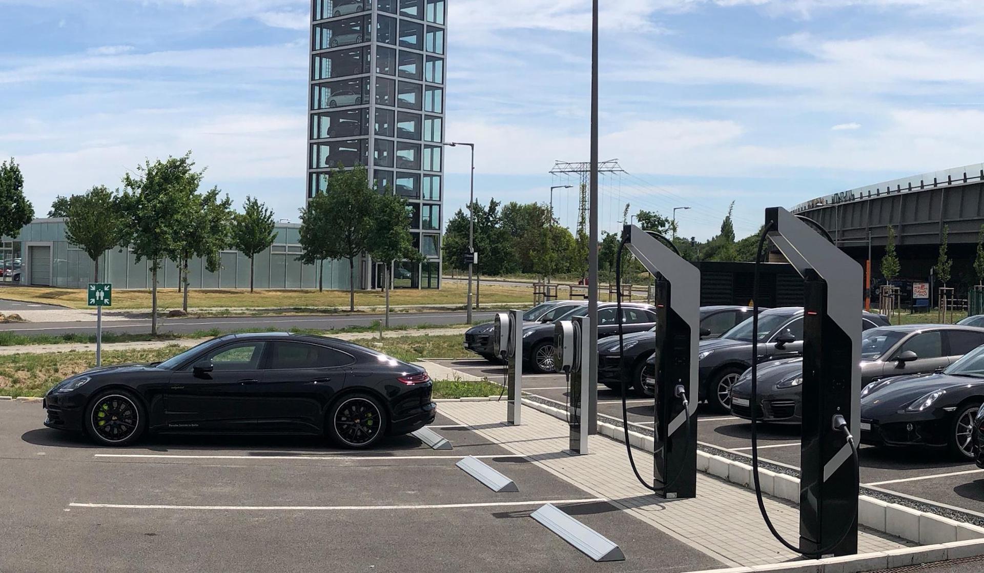 Porsche Begins Installing 800 Volt Electric Charging Stations At Dealerships