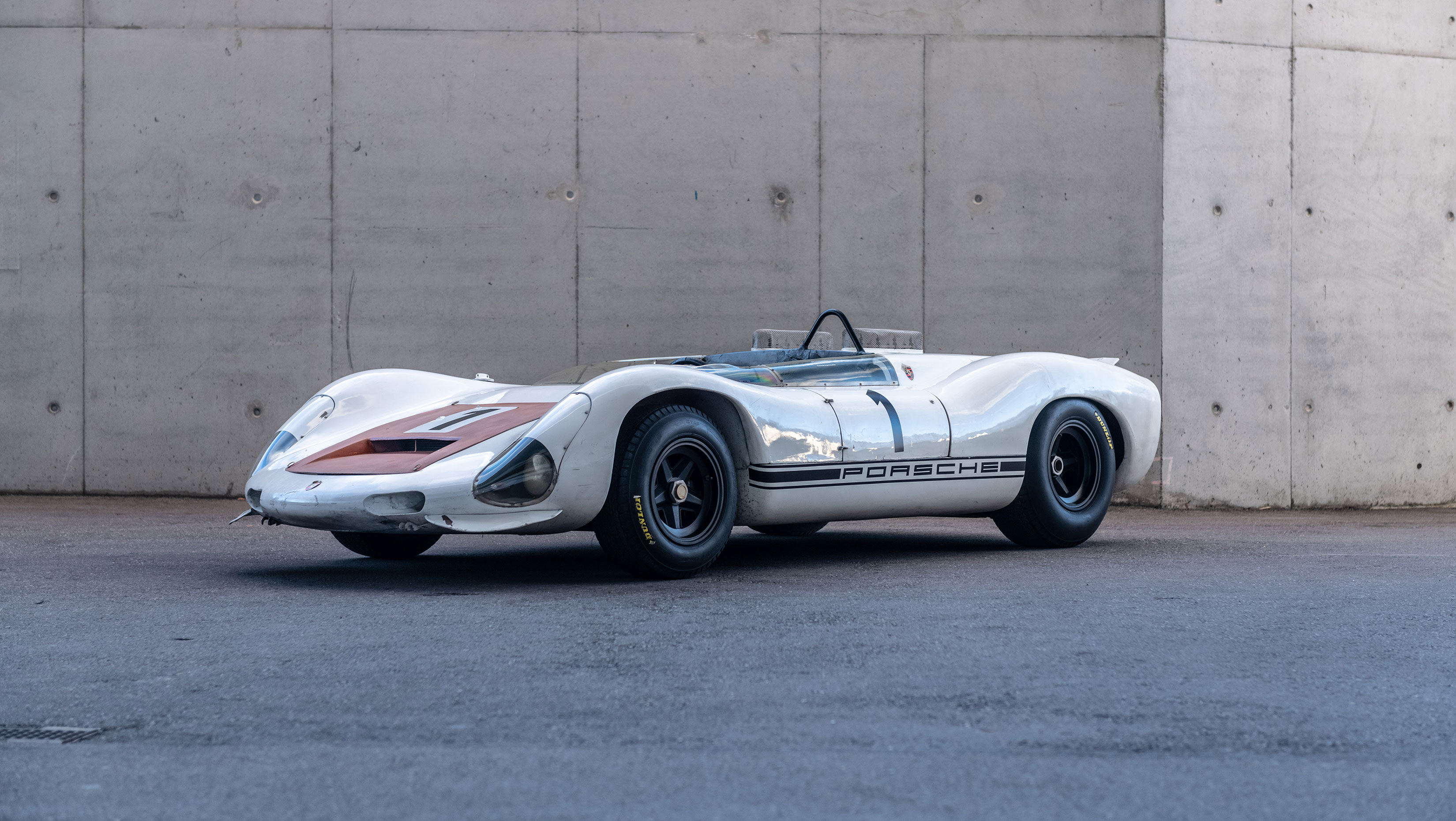 Porsche race car has been preserved since its final race in 1967