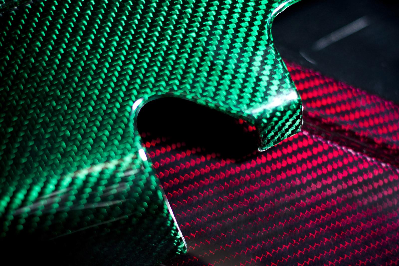 Prodrive Develops Deep Luster Colored Carbon Fiber