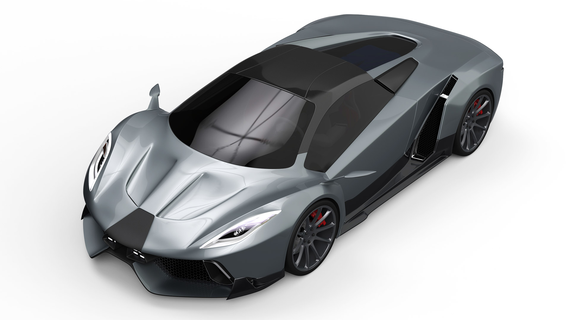 PSC Reveals Hybrid Supercar, Raises Claimed Output To 2,400 Horsepower
