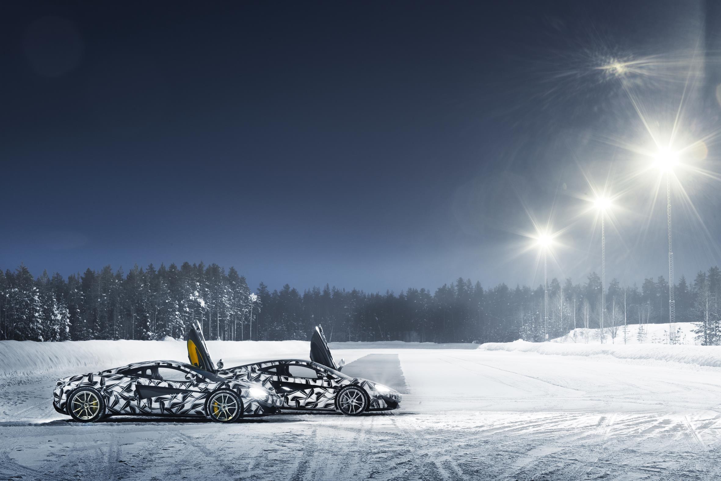 Mclaren To Host Ice Driving School In The Arctic Circle