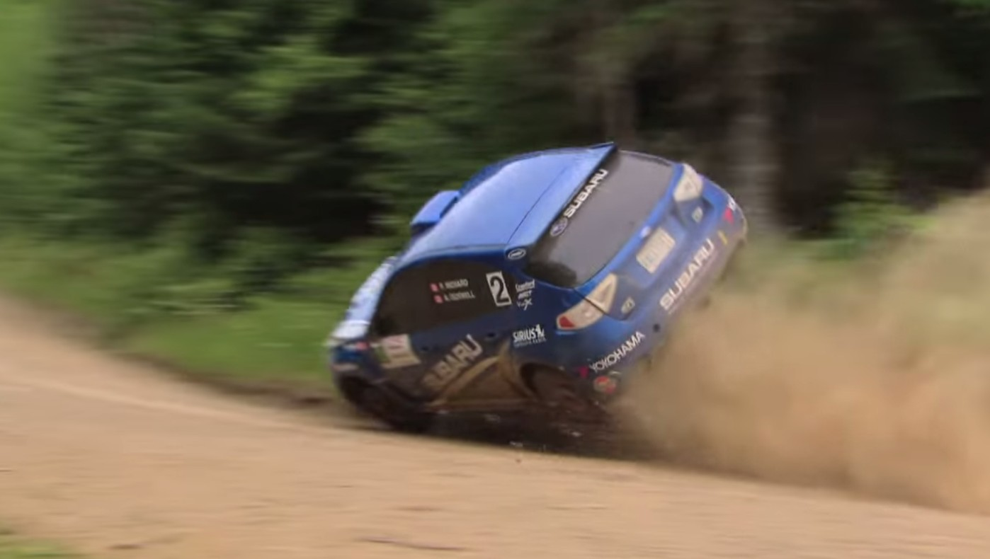 Rally Driver Rolls Car, Continues On To Win Anyway: Video