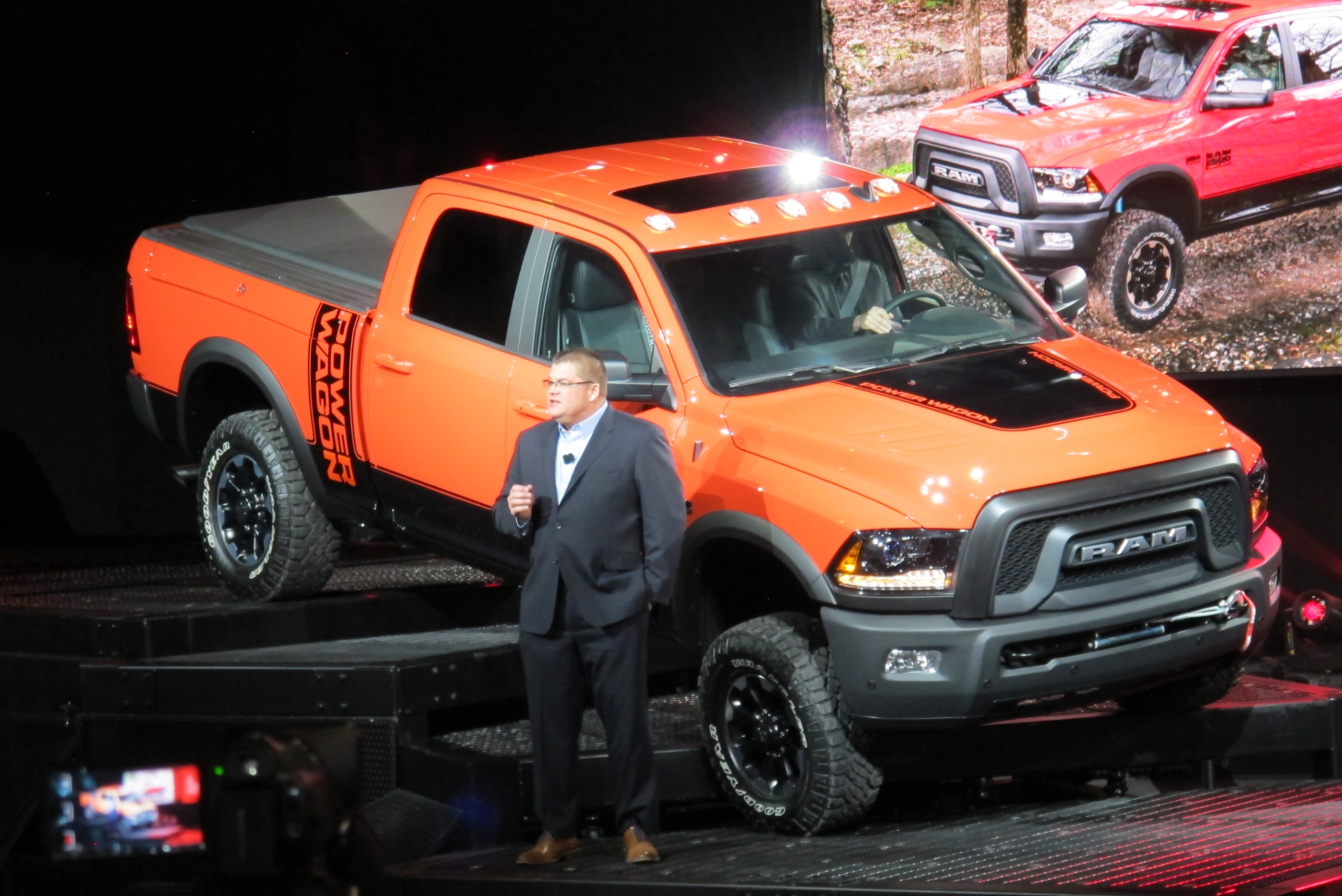 2017 Ram 1500 Srt Hellcat >> 2017 Ram Power Wagon gets a newer, tougher face
