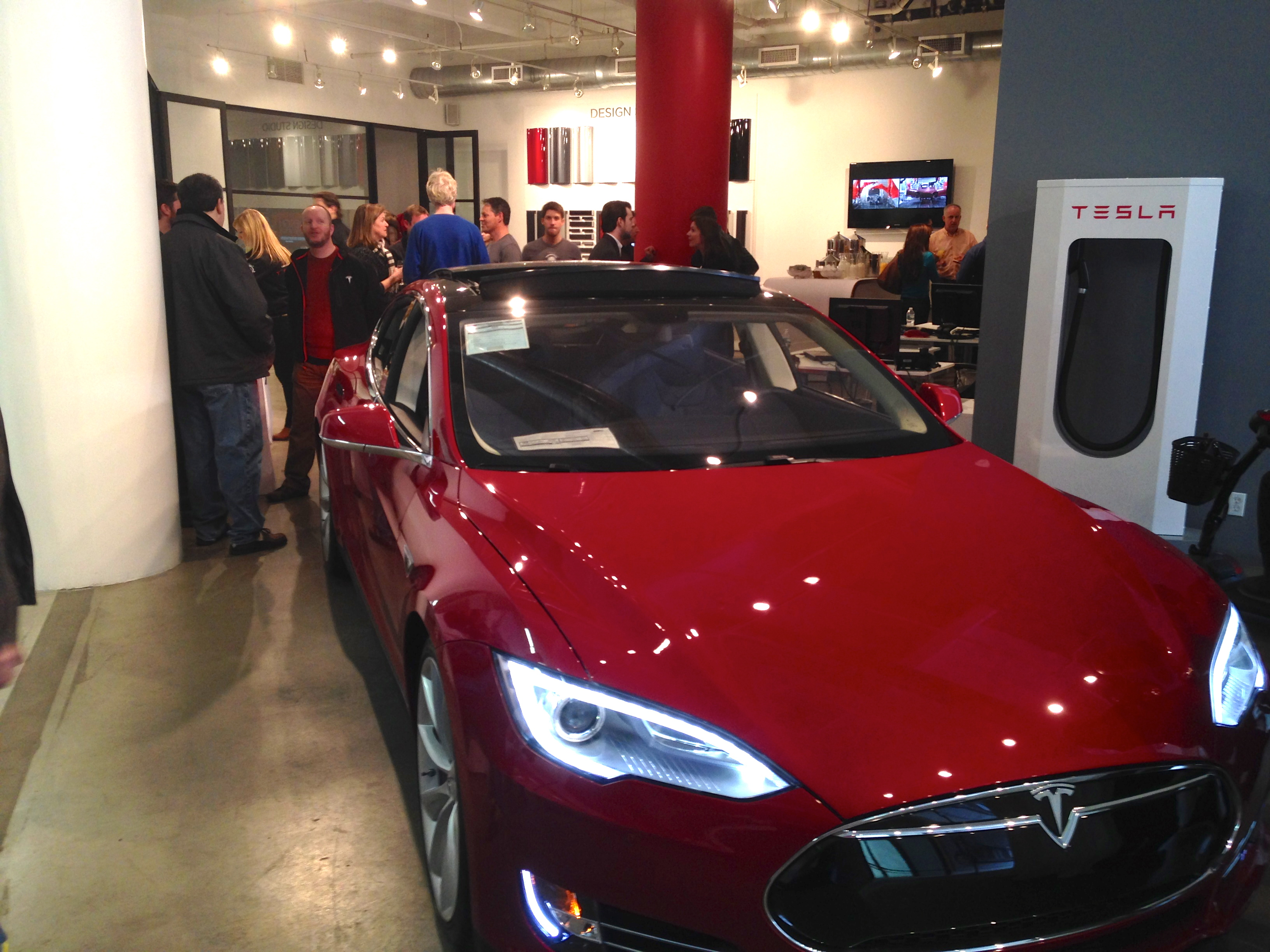 Tesla Celebrates LA-To-NYC Cross-Country Road Trip In Style