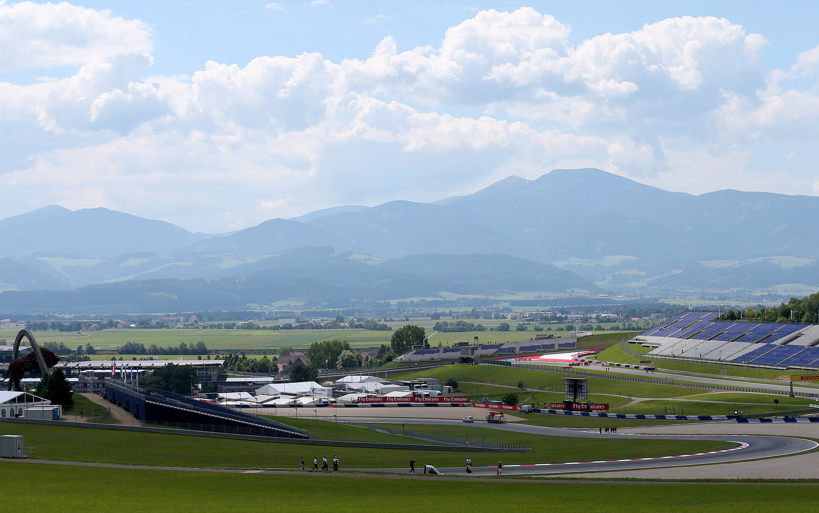 2014 Formula One Austrian Grand Prix Weather Forecast