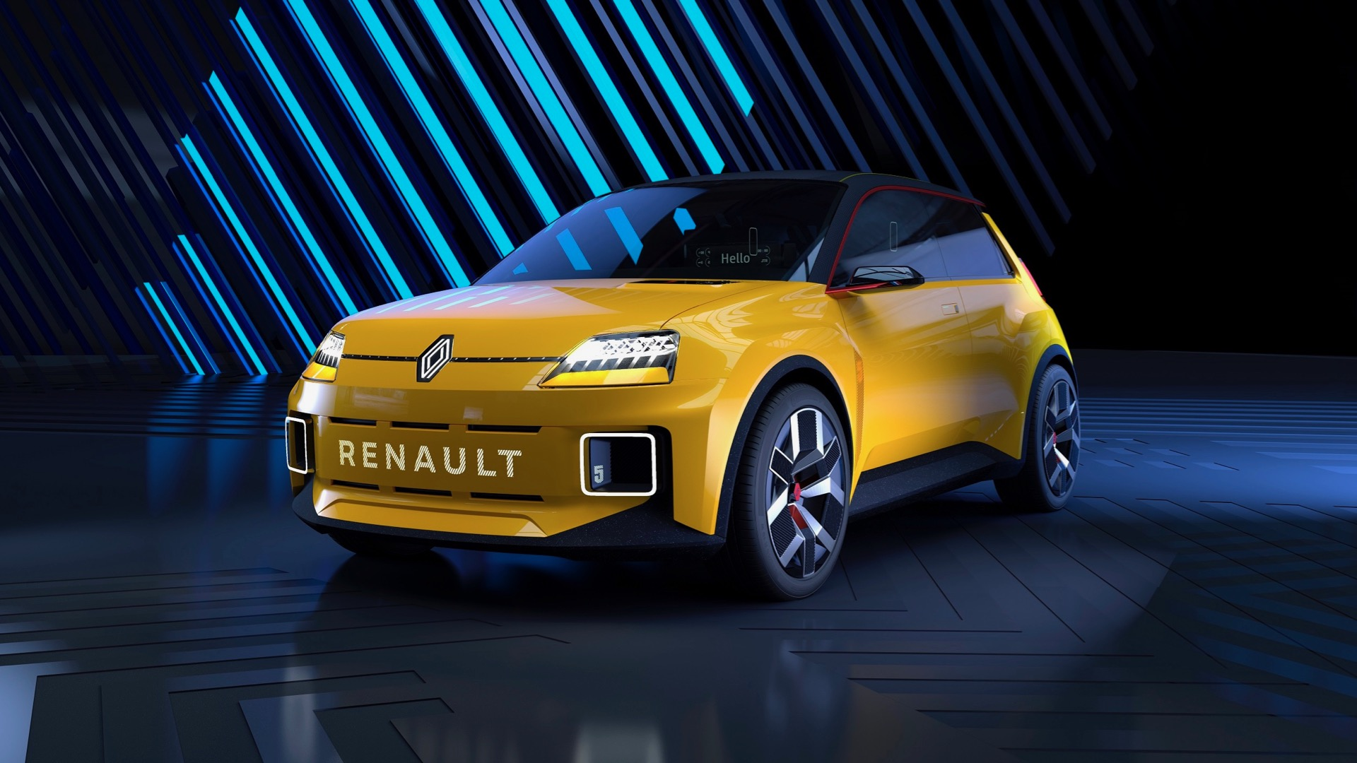 Renault 5 Prototype is a retro-styled electric car inspired by the R5