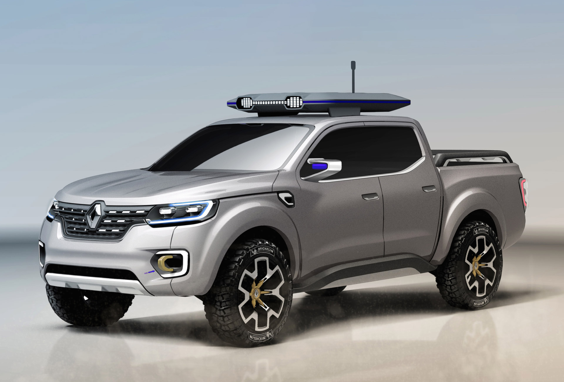 Renault Alaskan Concept Previews New Pickup Developed Jointly With ...
