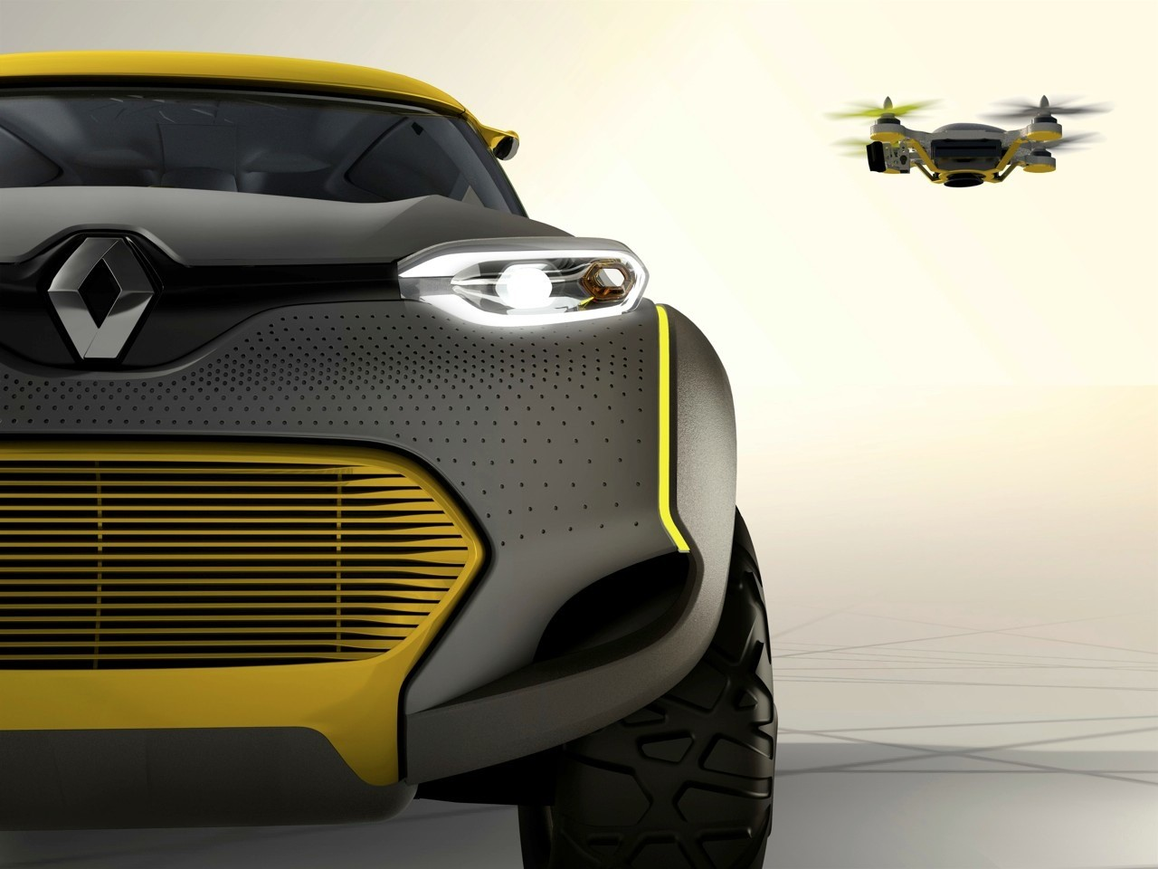 Renault Kwid Concept Gets Its Own Drone