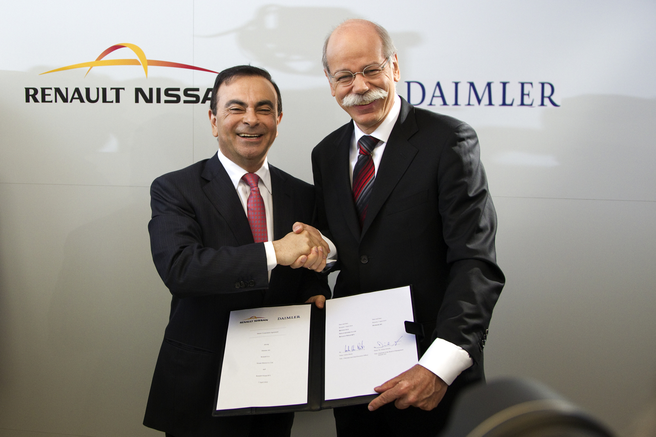 renault nissan and daimler announce further cooperation. Black Bedroom Furniture Sets. Home Design Ideas