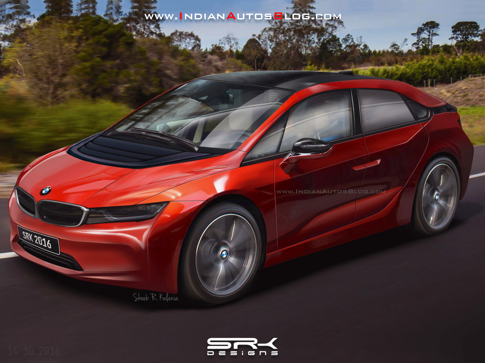 2019 Bmw I5 Crossover Utility Vehicle Rendered From Patent