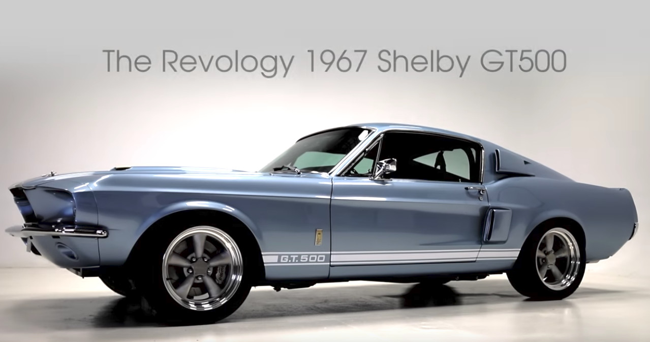 Revology offers a modern 1967 shelby gt500 for 219000