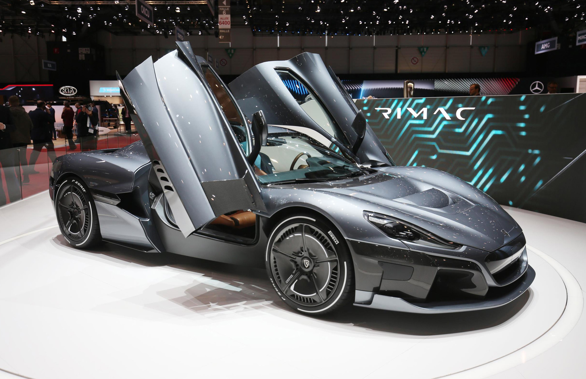 Rimac C Two Electric Supercar Lands In Geneva With Amazing Specs And Gorgeous Lines