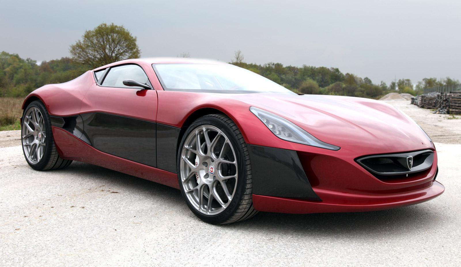 rimac concept one electric supercar gets track time video. Black Bedroom Furniture Sets. Home Design Ideas