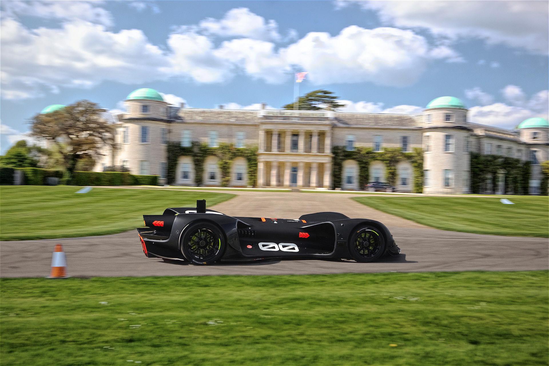 Enjoy This Degree Video Of Roboraces Autonomous Run Up Goodwood - Goodwood hardware car show
