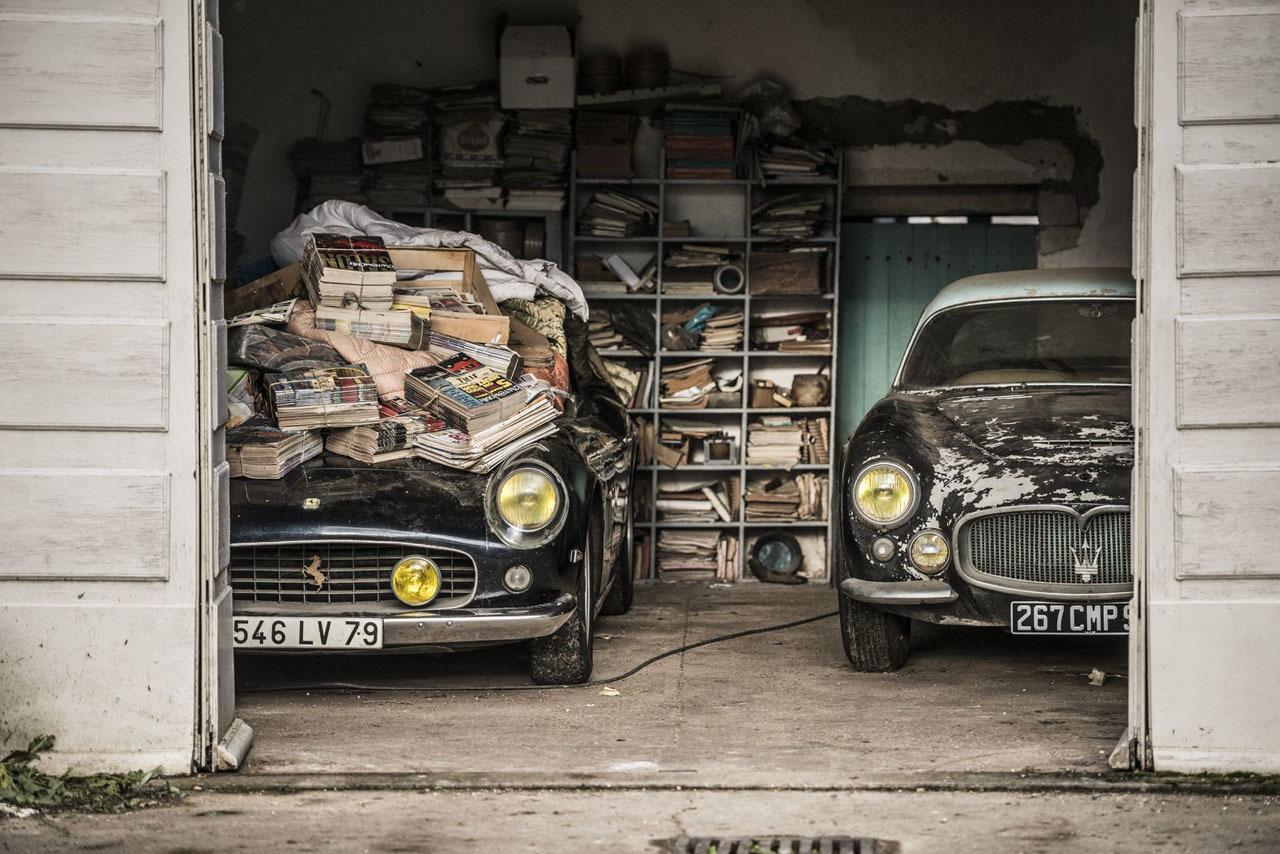 100-Car French Barn Find Includes Rare Ferraris, Bugatti: Video